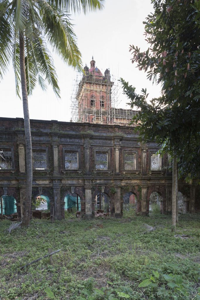 Outside exterior overgrown Secretariat Colonial Buildings heritage architecture Myanmar Burma Yangon Rangoon Adam X Urbex Urban Exploration Access 2016 decay ruins derelict location creepy haunting eerie