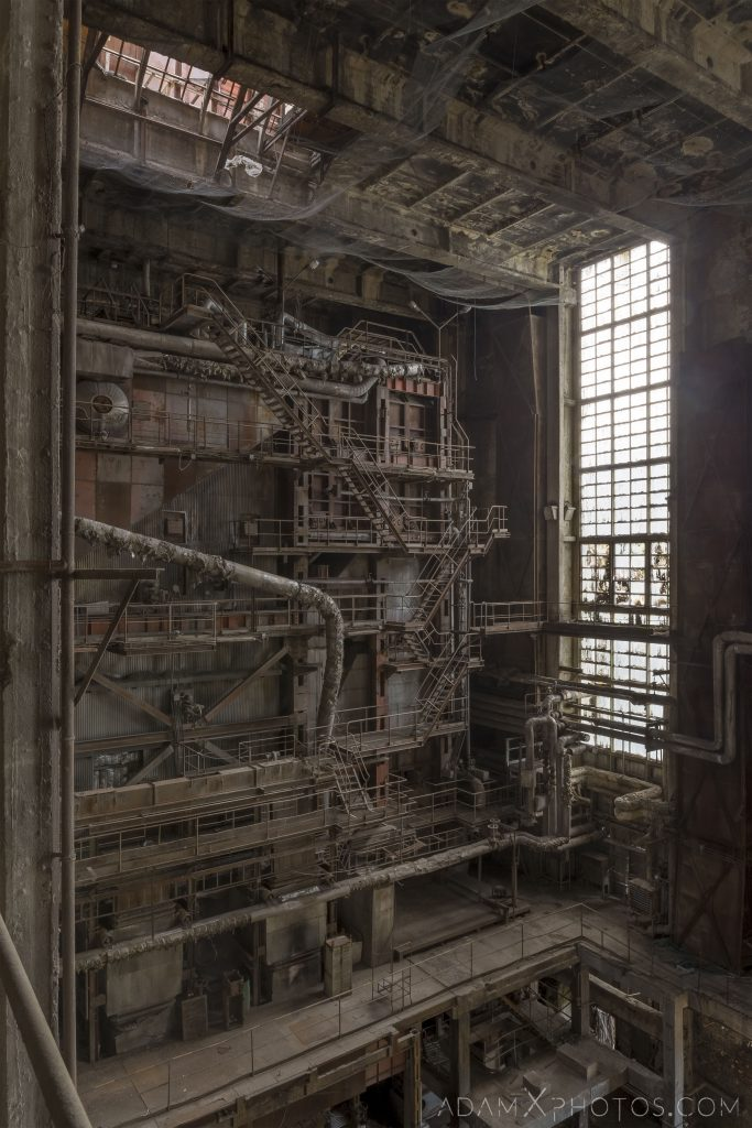Gantries platforms industry industrial rusty rusting Bladerunner Blade Runner 2049 Powerplant Inota Shephard's Power Plant Hungary Adam X Urbex Urban Exploration Access 2018 Abandoned decay ruins lost forgotten derelict location creepy haunting eerie security