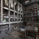 gantries pipes industry industrial rusty rusting Bladerunner Blade Runner 2049 Powerplant Inota Shephard