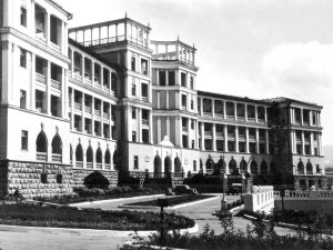Hotel Tbilisi external 1953 old photo history as it was