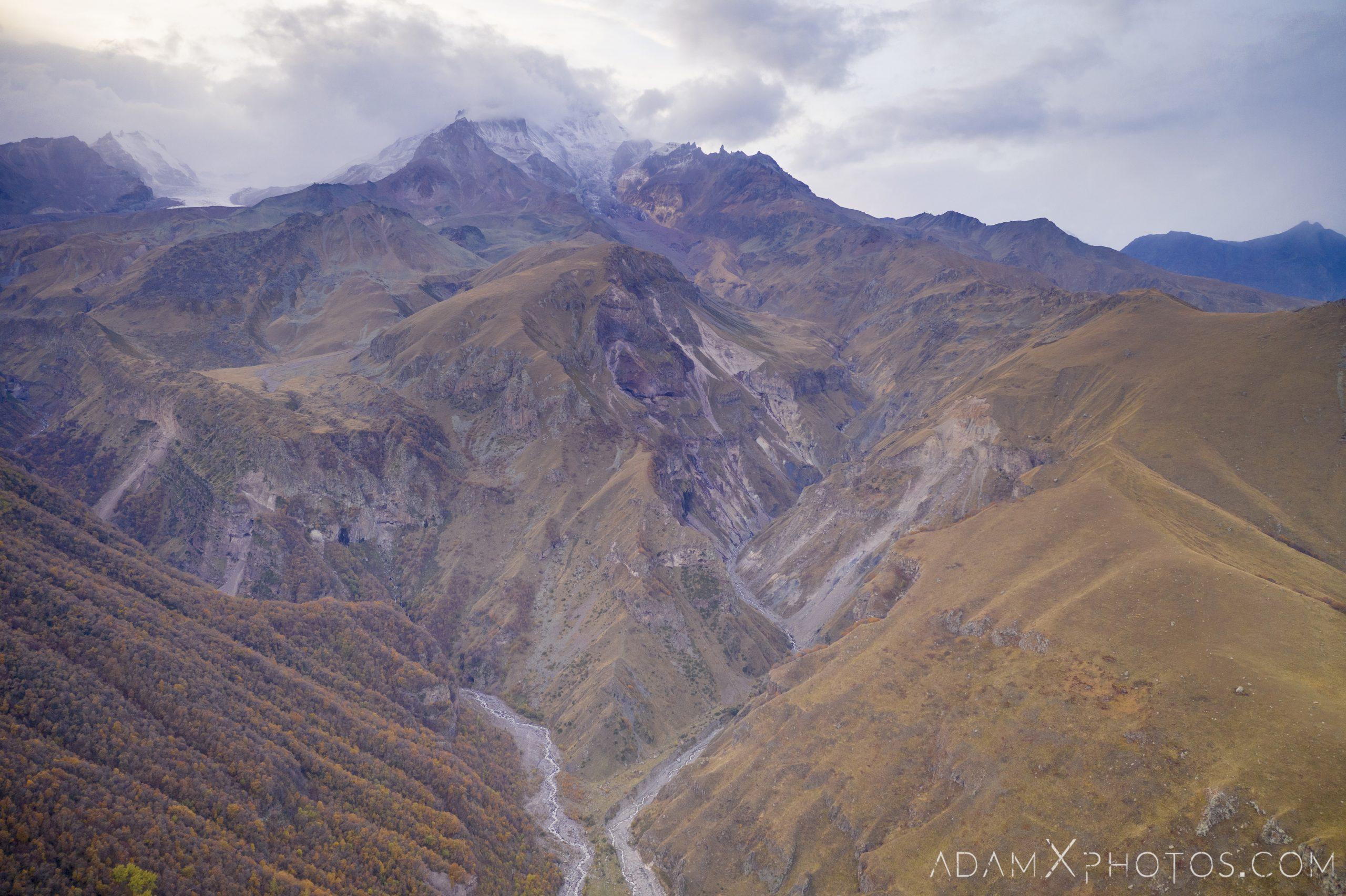 Gergeti Mountains Drone Kazbek Georgia Adam X AdamXPhotos Urbex Urban Exploration 2018 Abandoned ruins lost forgotten derelict location