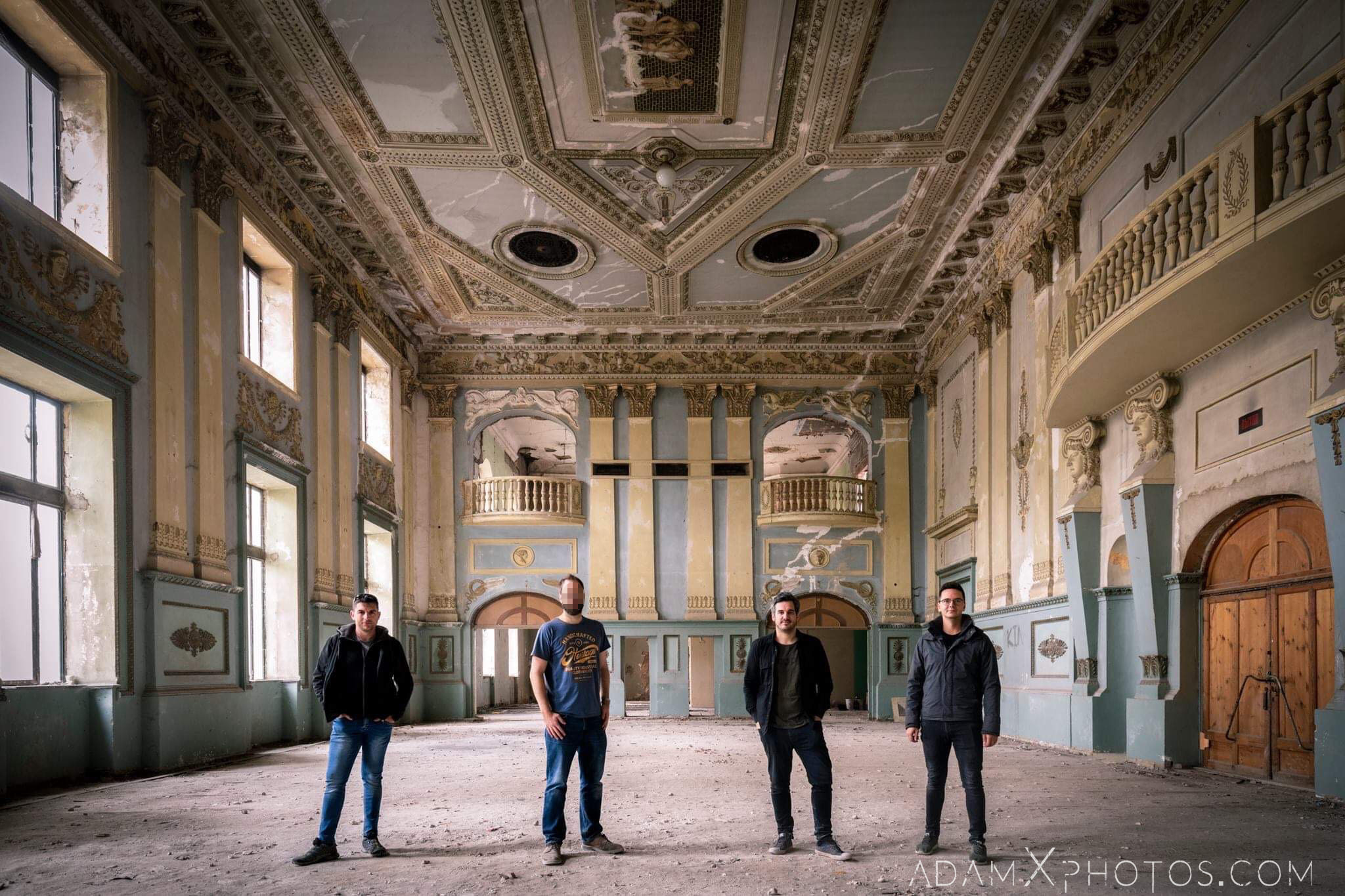 Team Shot Theatre Theater Entertainment Hall Tbilisi Georgia Soviet era Adam X AdamXPhotos Urbex Urban Exploration 2018 2019 Abandoned Access History decay ruins lost forgotten derelict location creepy haunting eerie security